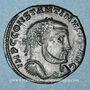Coins Constantin I (307-337). Follis. Thessalonique, 2e officine, 312-313. R/: Jupiter nicéphore debout