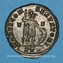 Coins Constantin I (307-337). Follis. Trèves, 1ère officine. 310-313. R/: Mars