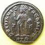 Coins Constantin I (307-337). Follis. Trèves, 1ère officine, 313-315. R/: le Soleil radié