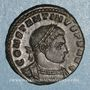 Coins Constantin I (307-337). Follis. Trèves, 1ère officine. 313-315. R/: le Soleil
