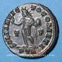 Coins Constantin I (307-337). Follis. Trèves, 1ère officine, 313-315. R/: le Soleil