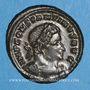 Coins Constantin I (307-337). Follis. Trèves, 1ère officine. 315-316. R/: le Soleil
