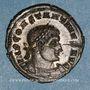 Coins Constantin I (307-337). Follis. Trèves, 1ère officine. 317. R/: le Soleil