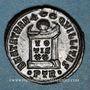 Coins Constantin I (307-337). Follis. Trèves, 1ère officine, 322-323. R/: globe sur un autel