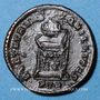 Coins Constantin I (307-337). Follis. Trèves, 1ère officine, 322. R/: globe sur un autel