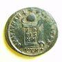 Coins Constantin I (307-337). Follis, Trèves, 1ère officine, 322. R/: globe sur un autel
