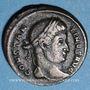 Coins Constantin I (307-337). Follis. Trèves, 1ère officine, 323-324. R/: Victoire marchant à droite