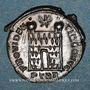 Coins Constantin I (307-337). Follis. Trèves, 1ère officine, 327-328. R/: porte de camp