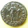Coins Constantin I (307-337). Follis. Trèves, 2e officine, 316. R/: le Soleil radié