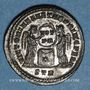 Coins Constantin I (307-337). Follis. Trèves, 2e officine, 318-319. R/: deux Victoires debout