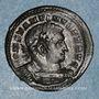Coins Constantin I (307-337). Follis. Trèves, 310-313. R/: Mars