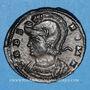 Coins Constantin I (307-337). Monnayage pour Rome. Follis. Trèves, 2e officine, 330-331. R/: la Louve
