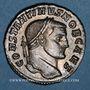 Coins Constantin I, césar (306-307). Follis. Rome, 3e officine, 306-307. R/: la Monnaie. R !