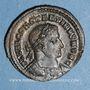 Coins Constantin I, césar (306-307). Follis. Trèves, 1ère officine, 307. R/: Génie tourelé