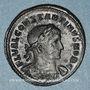 Coins Constantin I, césar (306-307). Follis. Trèves, 1ère officine, 307. R/: Mars debout à droite