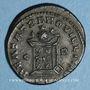 Coins Constantin II, césar (317-337). Centenionalis. Lyon, 1ère officine, 321. R/: globe