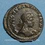 Coins Constantin II, césar (317-337). Follis. Londres, 1ère officine, 317. R/: le Soleil