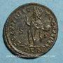 Coins Crispe, césar (317-326). Follis. Londres, 1ère officine. 317. R/: le Soleil