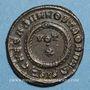 Coins Crispe, césar (317-326). Follis. Siscia, 3e officine, 321-324. R/: couronne
