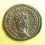 Coins Dioclétien (284-305). Antoninien. Lyon, 1ère officine, 286. R/: Jupiter
