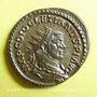 Coins Dioclétien (284-305). Antoninien. Lyon, 1ère officine, 289. R/: Jupiter