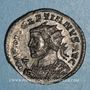 Coins Dioclétien (284-305). Antoninien. Lyon, 1ère officine. 290-291. R/: Jupiter