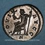 Coins Dioclétien (284-305). Antoninien. Lyon, 1ère officine, 292. R/: Jupiter assis à gauche