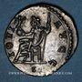 Coins Dioclétien (284-305). Antoninien. Lyon, 1ère officine, 293. R/: Jupiter à demi-nu assis à gauche