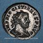 Coins Dioclétien (284-305). Antoninien. Lyon, 1ère officine, 293. R/: Jupiter