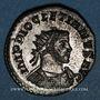 Coins Dioclétien (284-305). Antoninien. Lyon, 3e officine, 290-291. R/: la Santé debout à droite