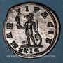 Coins Dioclétien (284-305). Antoninien. Rome, 5e officine, 285-286. R/: Mars debout à gauche