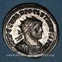 Coins Dioclétien (284-305). Antoninien. Ticinum, 3e officine, 285-286. R/: Jupiter nu debout à gauche