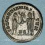Coins Dioclétien (284-305). Bronze radié. Héraclée, 5e officine, 295-298. R/: Dioclétien debout à droite