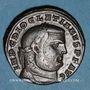 Coins Dioclétien (284-305). Follis. Antioche, 7e officine, 299-300. R/: Génie debout à gauche