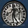 Coins Dioclétien (284-305). Follis. Aquilée, 1ère officine, 294. R/: Génie coiffé du modius