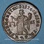 Coins Dioclétien (284-305). Follis. Aquilée, 1ère officine, 302-303. R/: la Monnaie debout à gauche