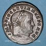 Coins Dioclétien (284-305). Follis. Aquilée, 1ère officine, 302-303. R/: la Monnaie