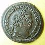 Coins Dioclétien (284-305). Follis. Cyzique, 3e officine, 295-296. R/: Génie coiffé du modius