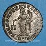 Coins Dioclétien (284-305). Follis. Rome, 1ère officine. 303-305. R/: la Monnaie