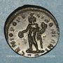 Coins Dioclétien (284-305). Follis. Trèves, 1ère officine. 296-297. R/: Génie
