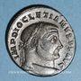Coins Dioclétien (284-305). Follis. Trèves, 1ère officine, 298-299. R/: Génie coiffé du modius