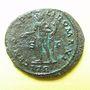 Coins Dioclétien (284-305). Follis. Trèves, 1ère officine, 302-303. R/: Génie