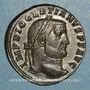 Coins Dioclétien (284-305). Follis. Trèves, 2e officine. 298-299. R/: Génie
