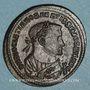 Coins Dioclétien (284-305) - Monnayage post-abdication. Follis. Trèves, 1ère officine, 305-307