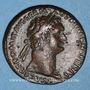 Coins Domitien (81-96). As. Rome, 87. R/: la Valeur debout à droite