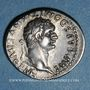 Coins Domitien (81-96). Denier. Rome, 82. R/: Minerve debout à droite