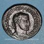 Coins Domitius Domitianus (297-298). Follis. Alexandrie 2e officine. R/: Génie debout à gauche