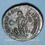 Coins Domitius Domitianus (297-298). Follis. Alexandrie 2e officine. R/: Génie