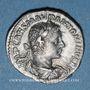 Coins Elagabale (218-222). Denier. Rome, 218-219. R/: Mars nu avec le manteau flottant