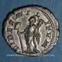 Coins Elagabale (218-222). Denier. Rome, 219. R/: la Fidélité militaire